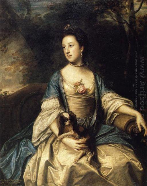 Caroline Duchess Of Marlborough 1762