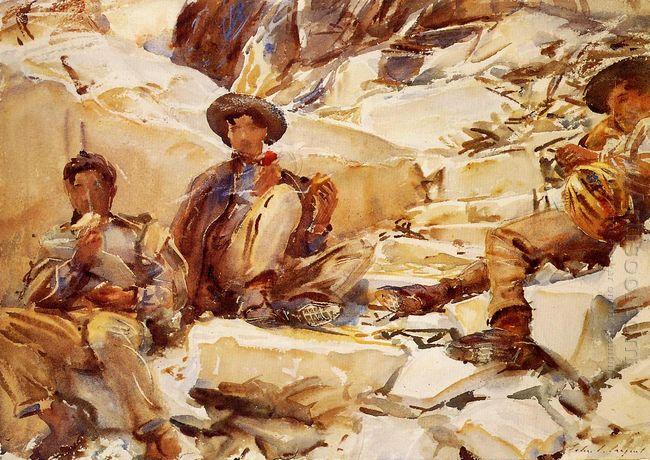 Carrara Workmen 1911
