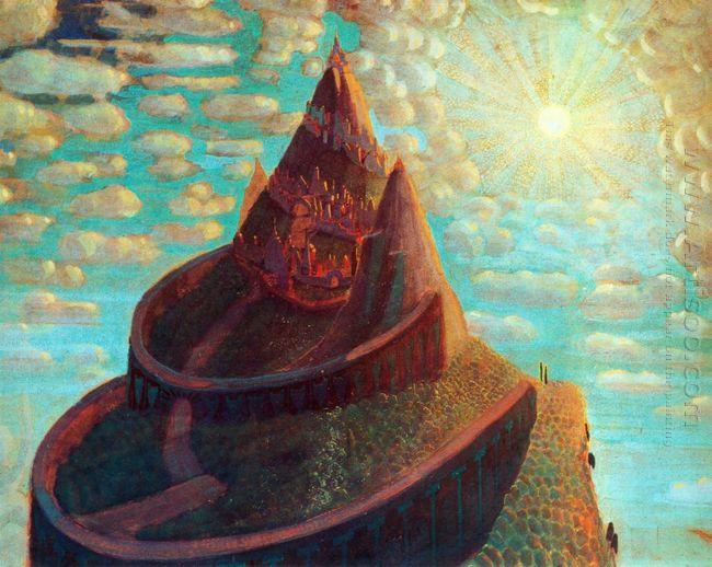 Castle Castle Fairy Tale 1909