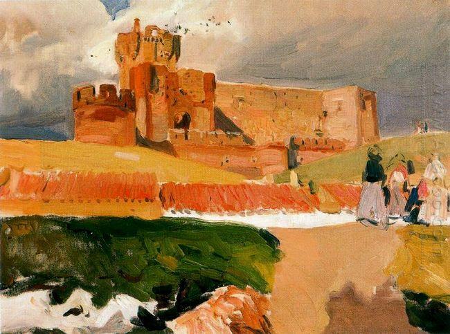 Castle Of La Mota Medina Del Campo