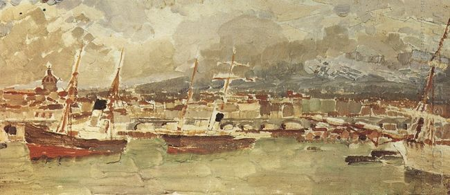 Catania Sicily 1894