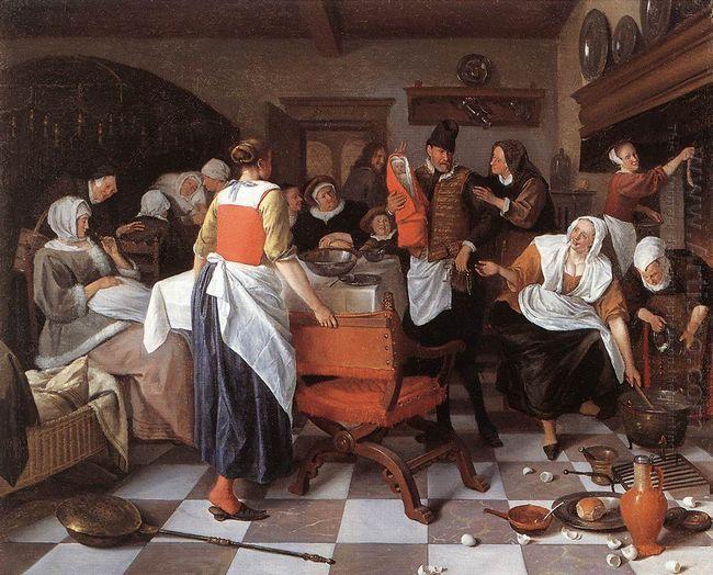 Celebrating The Birth 1664