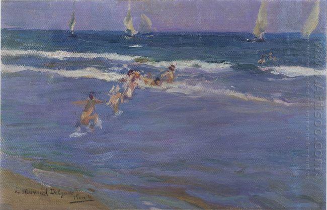 Children In The Sea 1909