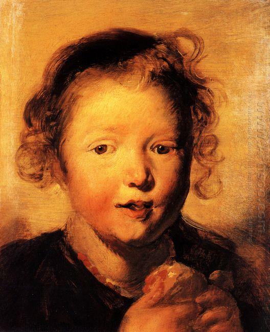 Child S Head 1620
