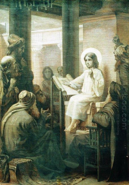 Christ Among The Teachers