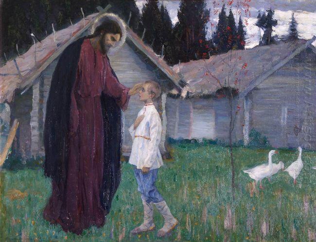 Christ Blesses Bartholomew