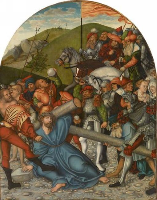 Christ Carrying The Cross 1538