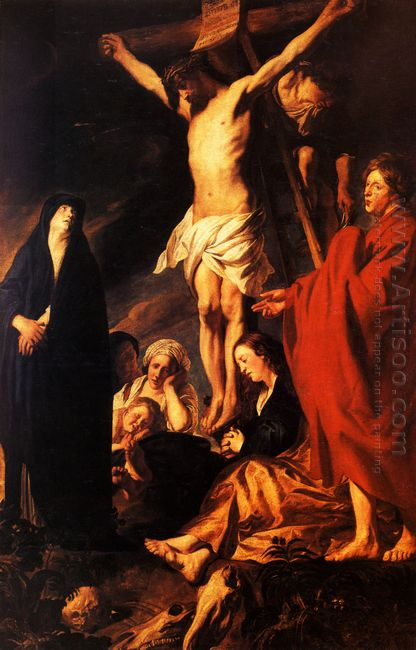 Christ On A Cross 1622