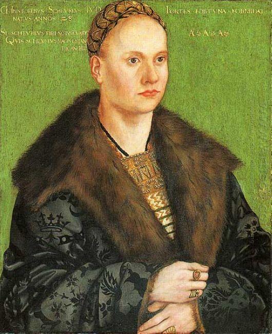 Christoph Von Scheurl 1509