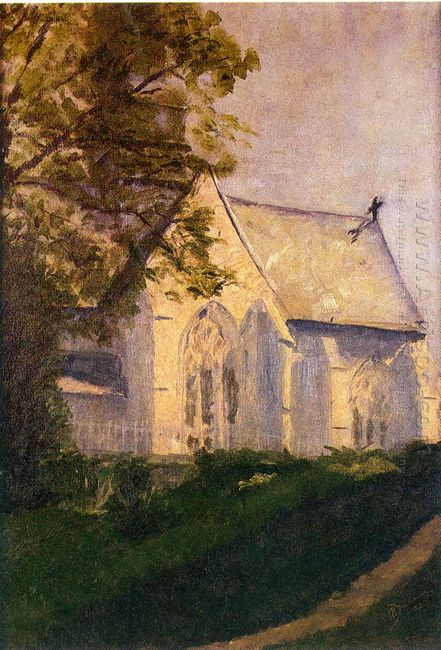 Church At Blainville 1902