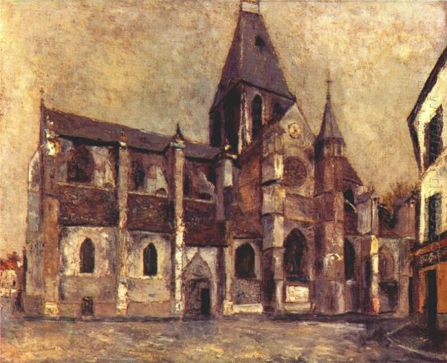 Church At Villiers Le Bel