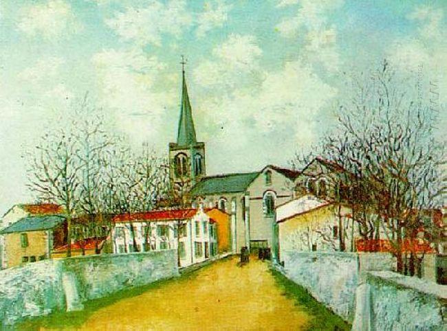 Church In Suburbs