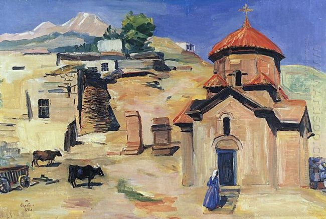 Church Karmravor Of Vii Century 1956