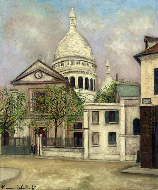 Church Of St Pierre And The Dome Of Sacre Coeur