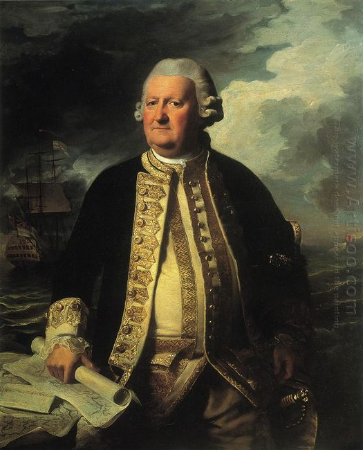 Clark Gayton Admiral Of The White 1779
