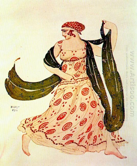 Cleopatre Greek Dancer 1910
