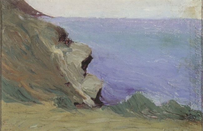 Cliff By The Sea 1905