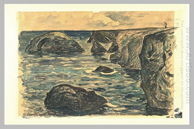 Cliffs Of The Wild Coast 1910
