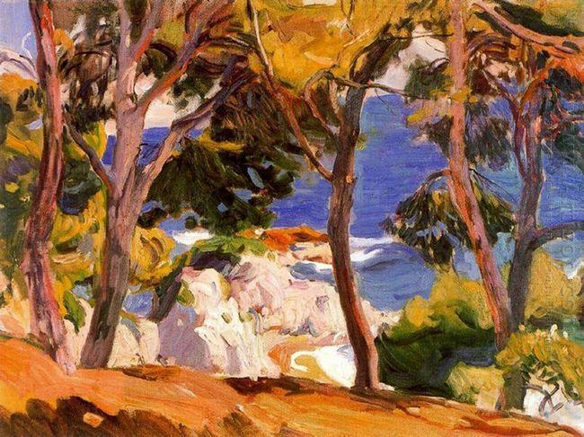 Coast At Santa Cristina 1914