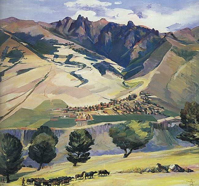 Collective Farm Of Village Karindzh In The Mountains Tumanyan 19