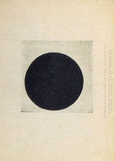 Composition With A Black Circle 1916