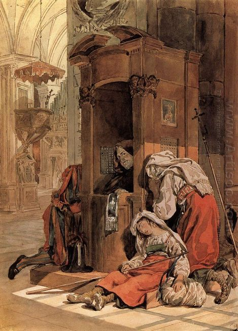 Confession Of An Italian Woman 1830