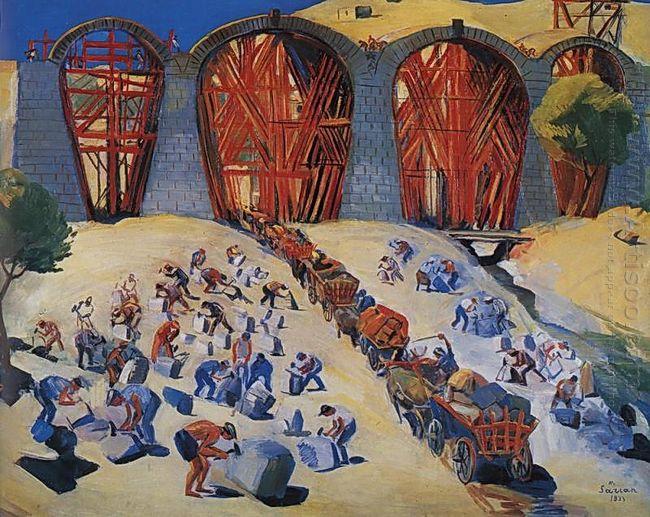 Construction Of Bridge 1933