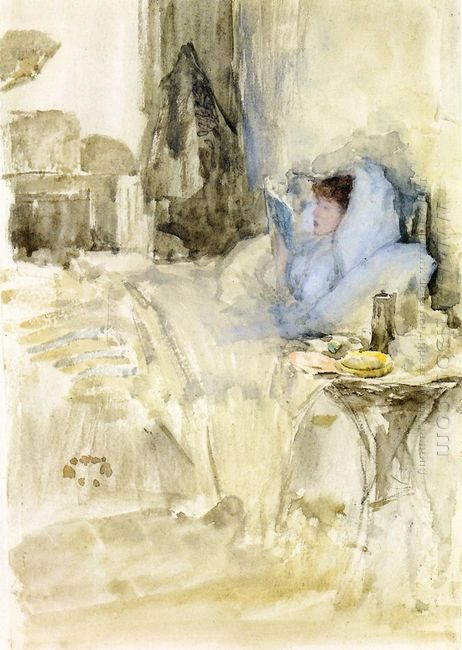 Convalescent Aka Petit Dejeuner Note In Opal 1884
