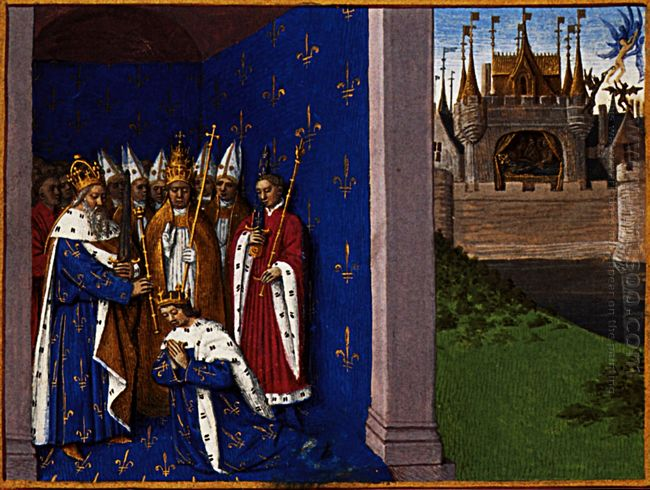 Coronation Of Louis The Pious 1460