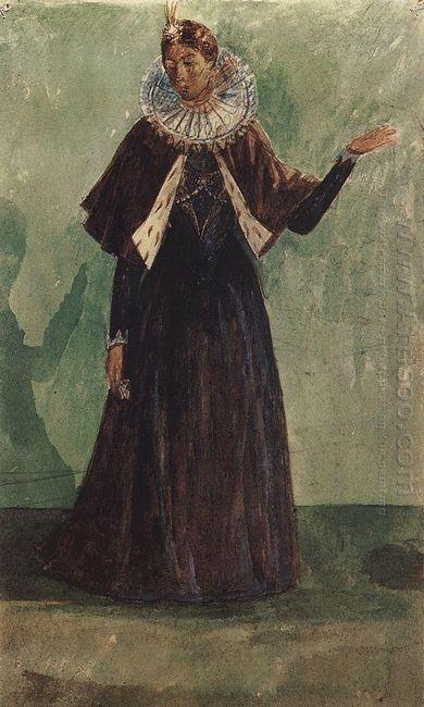 Costume Design By Marina Mnishek To The Tragedy Of Pushkin S Bor