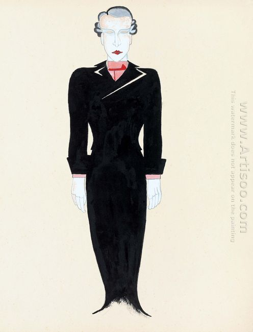 Costume Design For Tales Of Hoffmann 1929