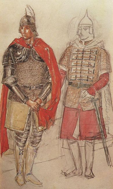 Costume Design For The Tragedy Of Pushkin S Boris Godunov 1923