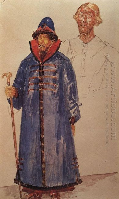 Costumes And Make Up To The Tragedy Of Pushkin S Boris Godunov 1