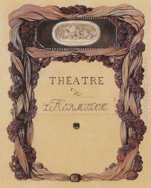 Cover Of Theater Program Theatre De L Hermitage