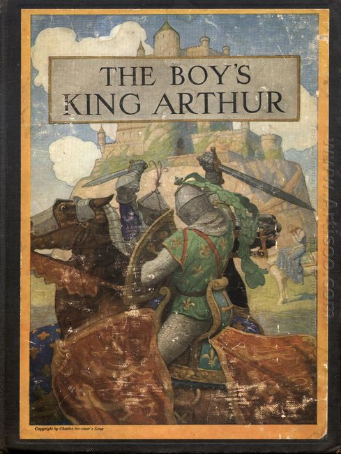 Cover Of The Boy S King Arthur
