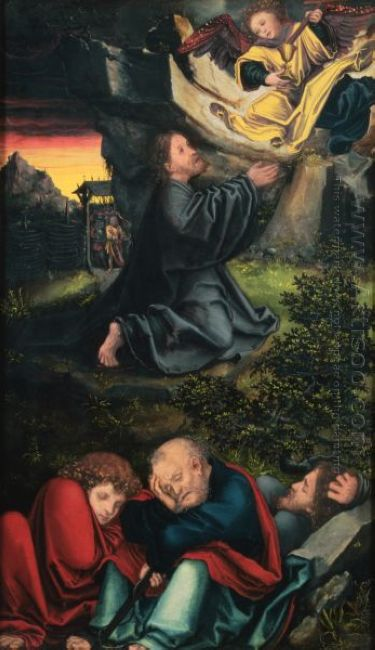 Cranach The Garden Of Gethsemane