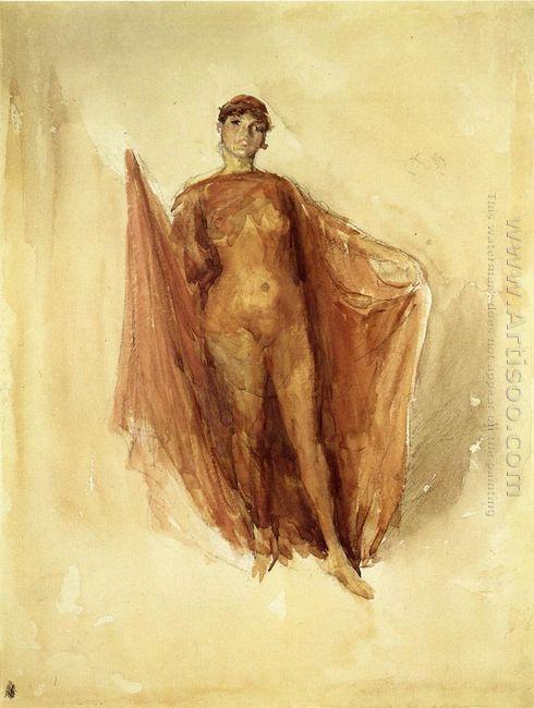Dancing Girl 1890