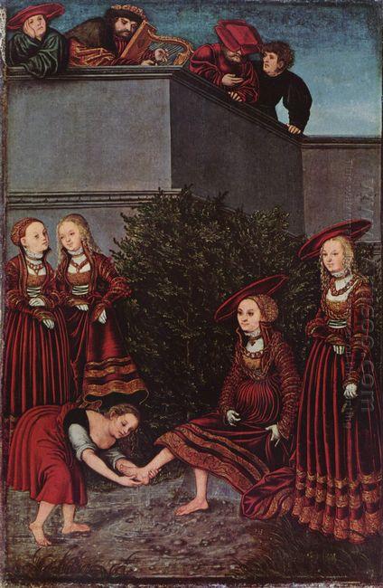 David And Bathsheba 1526