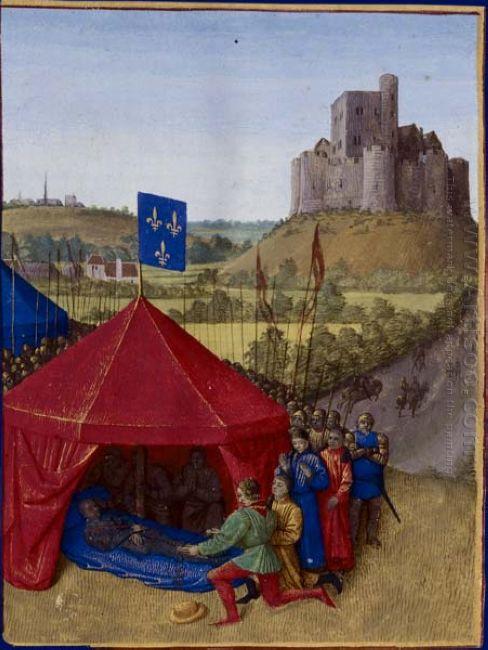 Death Of Bertrand Du Guesclin 1460
