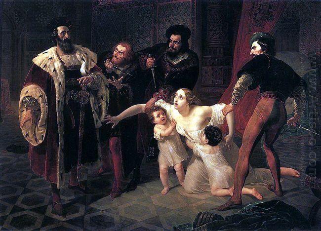 Death Of Inessa De Castro Morganatic Wife Of Portuguese Infant D