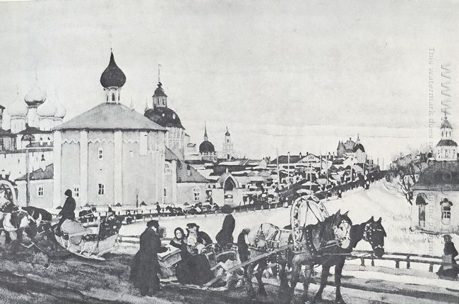 Depart From Troitsa 1910