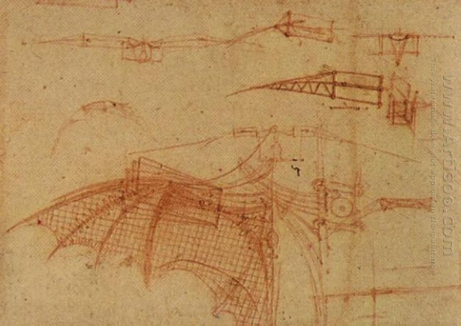 Design For A Flying Machine 1