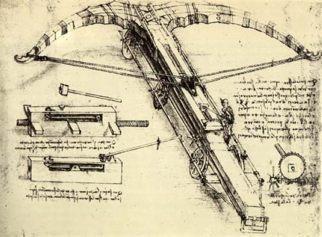 Design For A Giant Crossbow 1482