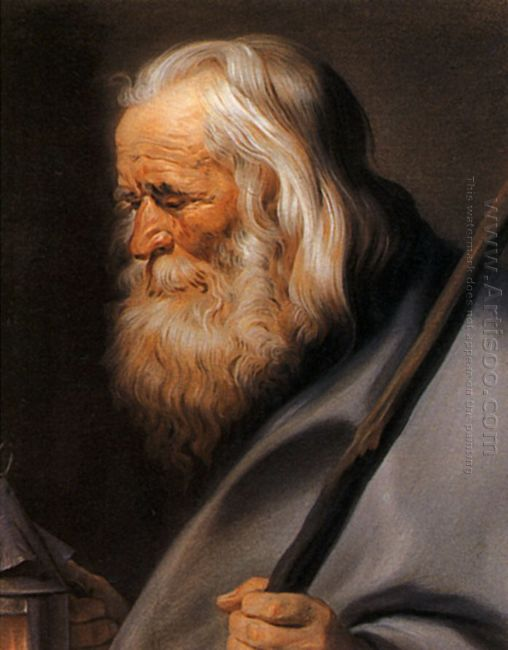 Diogenes After Peter Paul Rubens