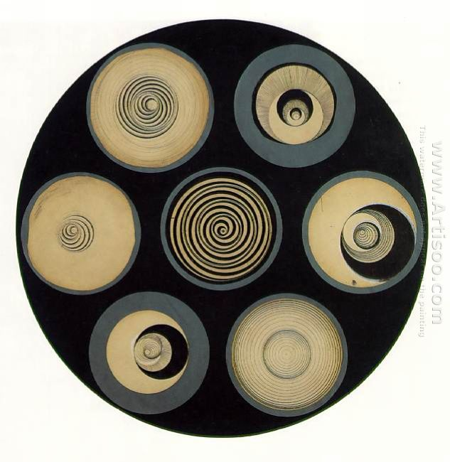 Disks Bearing Spirals 1923