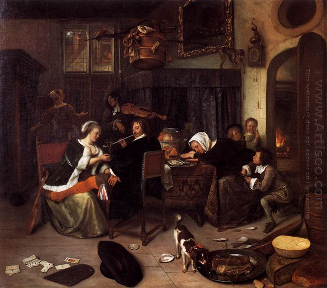 Dissolute Household 1664