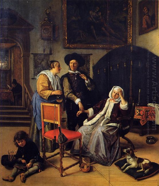 Doctor S Visit 1662