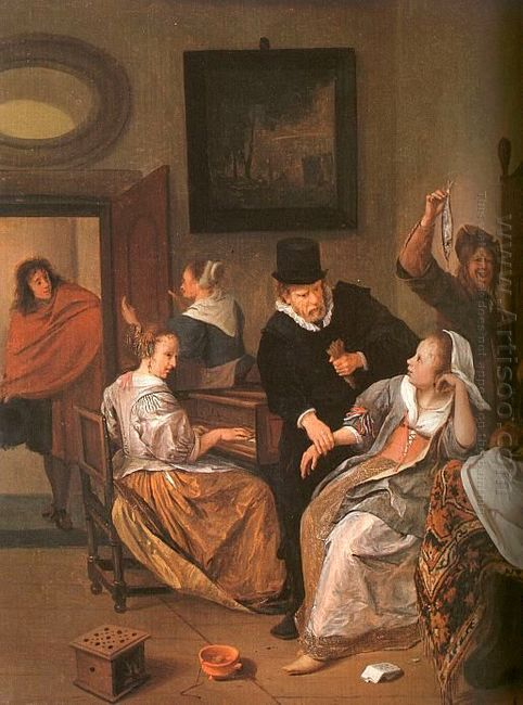 Doctor S Visit 1665