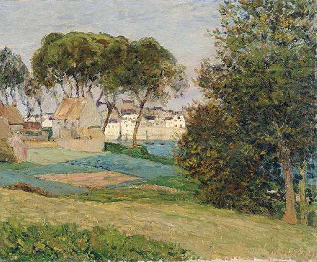 Douarnenez October Landscape 1896