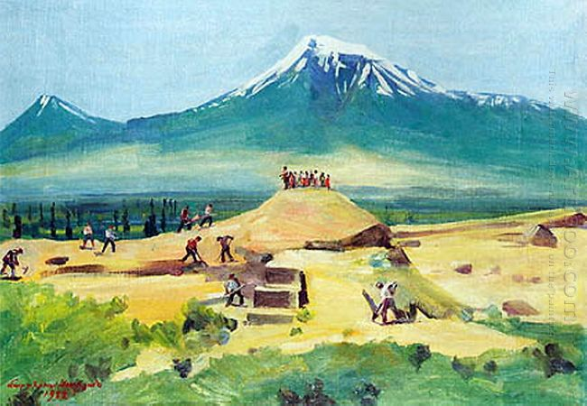 Dvin Excavations 1952